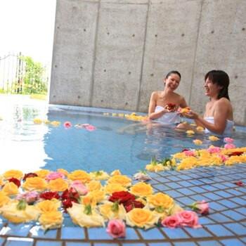 太平洋を見おろす絶景露天風呂&ドーム屋根のバラ風呂2205818