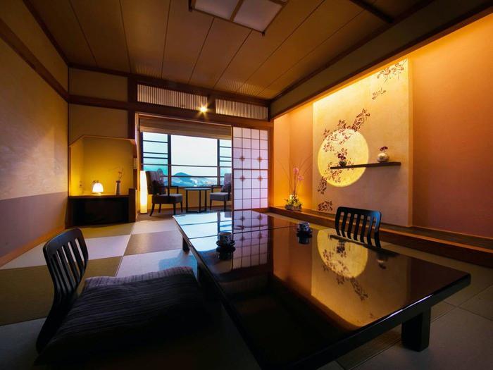 オーシャンビューの絶景風呂&カラフルなバラ風呂2205796